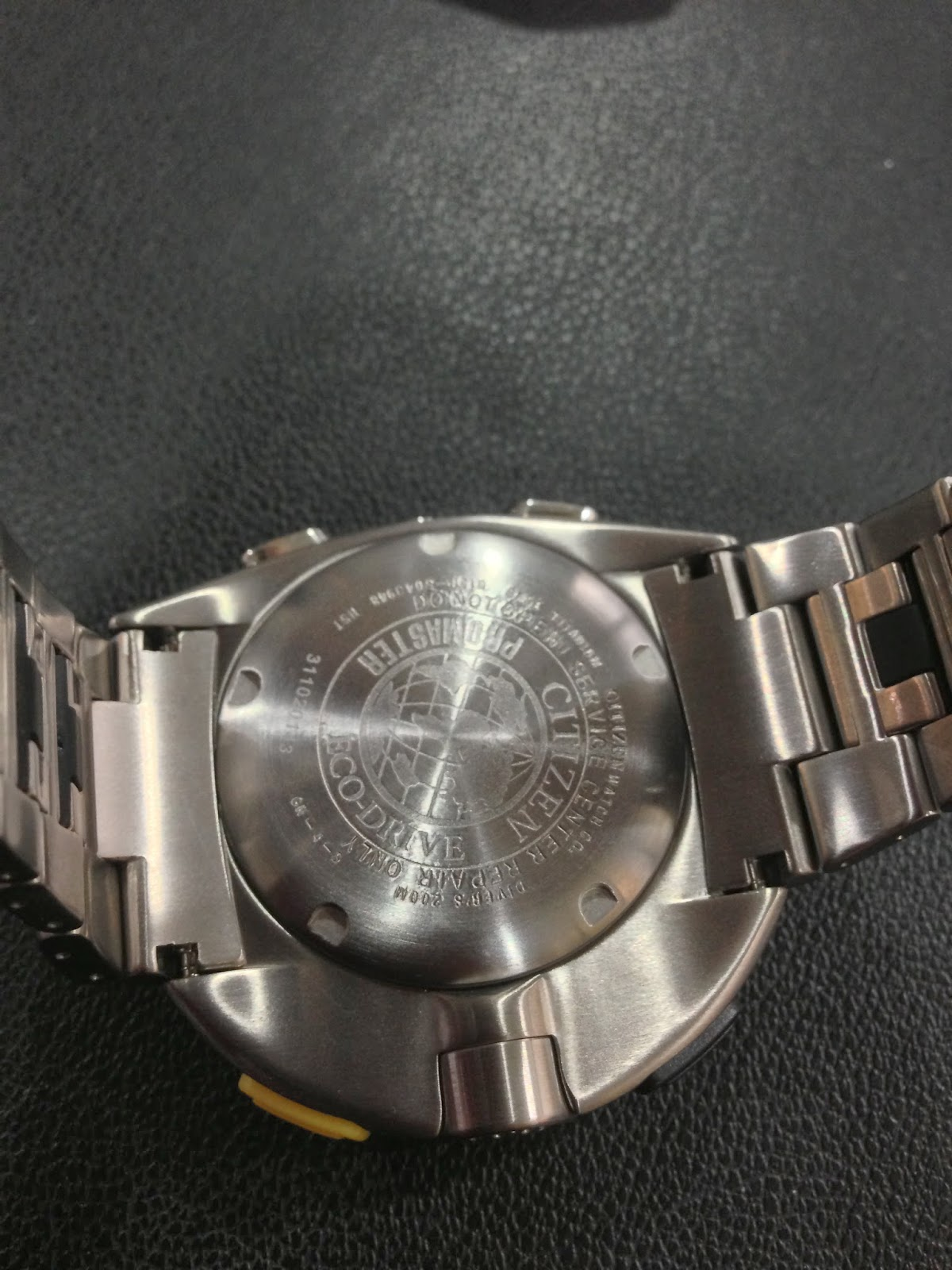 foto di orologi citizen falsi